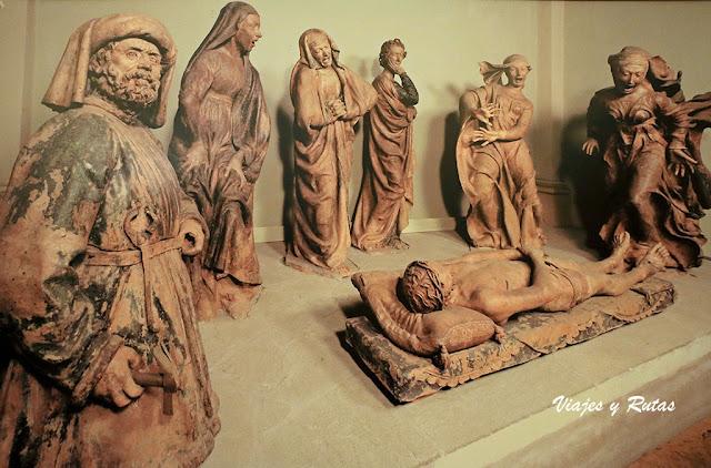 El Compianto de Niccolò dell'Arca, Santuario di santa María della Vita. Bolonia