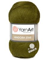 пряжа: YarnArt Angora star