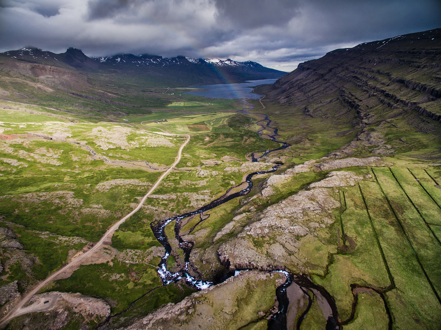 Berufjörður - 40 Reasons To Visit Iceland With A Drone