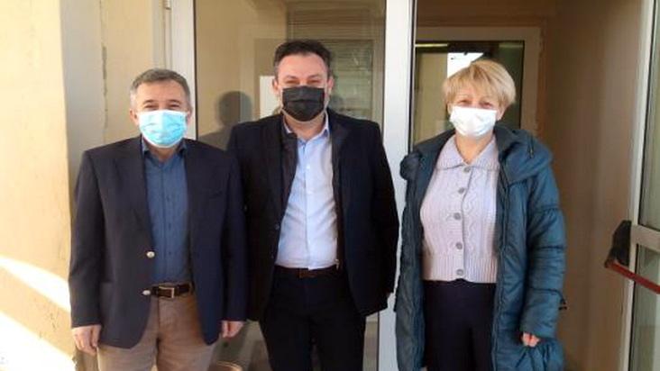 Επίσκεψη του Αντιπροέδρου του ΟΚΑΝΑ στο Νοσοκομείο Αλεξανδρούπολης