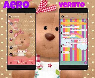 Teddy Bear & Rainbow Theme For YOWhatsApp & Fouad WhatsApp By Veriito