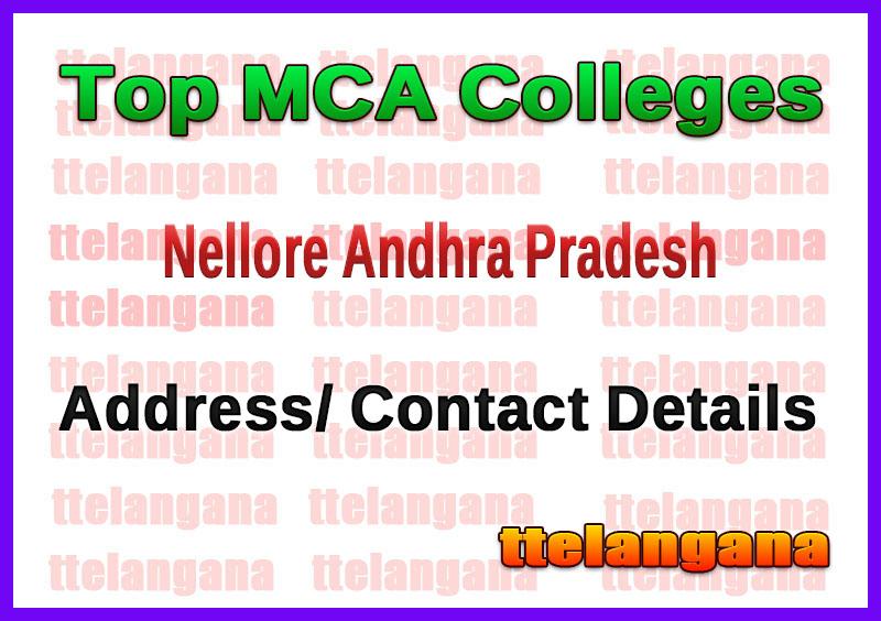 Top MCA Colleges in Nellore Andhra Pradesh