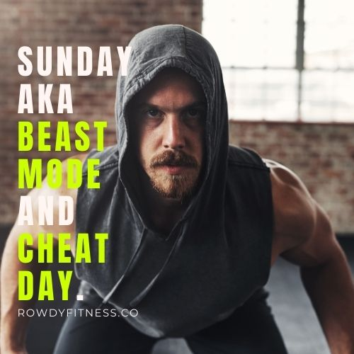 Sunday Gym Quotes