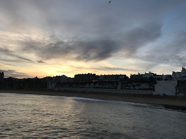 Sunset over Broadstairs, Kent