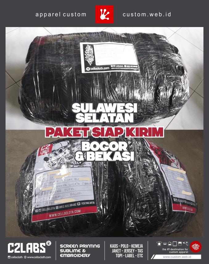Paket Siap Kirim Ke Sulawesi Selatan, Bogor dan Bekasi - CelloshipCC