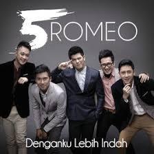 Lirik Lagu denganku lebih indah - 5romeo dari album bukan modus chord kunci gitar, download album dan video mp3 terbaru 2018 gratis