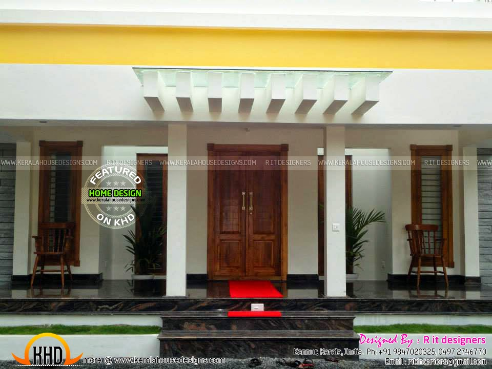 small living room designs kerala style flooring ideas for open plan kitchen finished house, floor and interiors - home ...