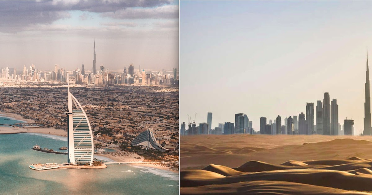 UAE Releases Artificial Rain Technology In Order To Combat Drought And The 50 Degree Plus Heat