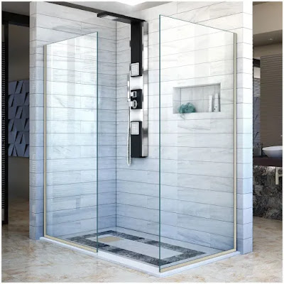 Have a shower instead of a tub