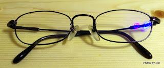眼鏡フレームの再塗装