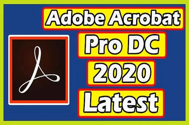 Adobe Acrobat Pro DC 2020 Download