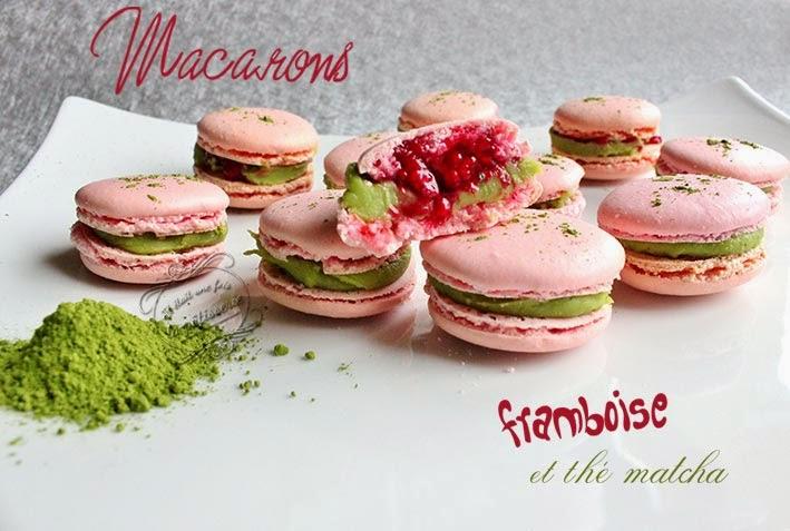 macarons framboise the matcha