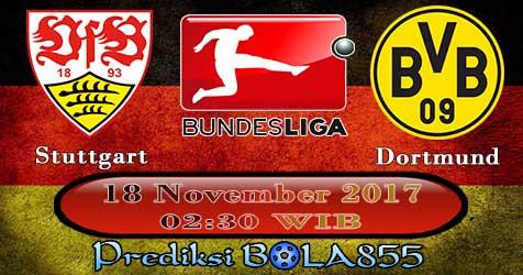 Prediksi Bola855 VfB Stuttgart vs Borussia Dortmund 18 November 2017