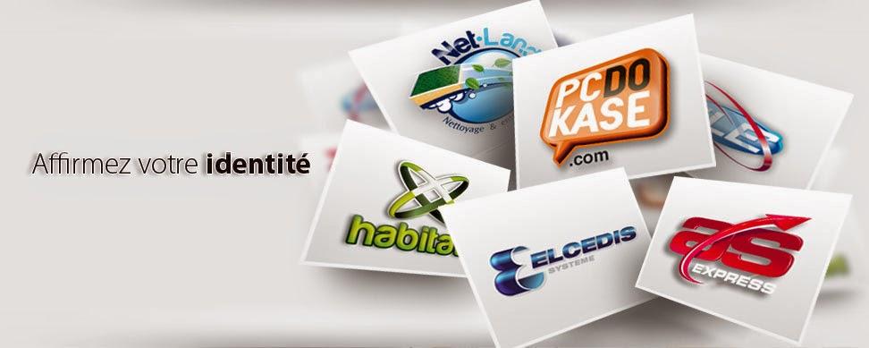 Crée un logo Professionnel Pour Votre Site :