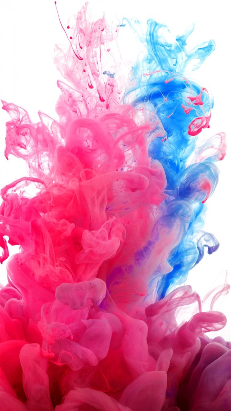 Fractal Paint Wallpaper IPhone 6