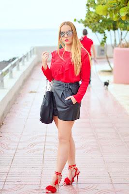 Catalogo de Zapatos Rojos Mujer
