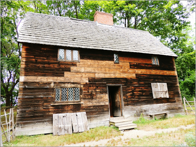 Casa del Gobernador en Pionner Village, Salem