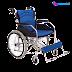Alat Bantu Berjalan Orang Tua - Kursi Roda Aluminium Juara