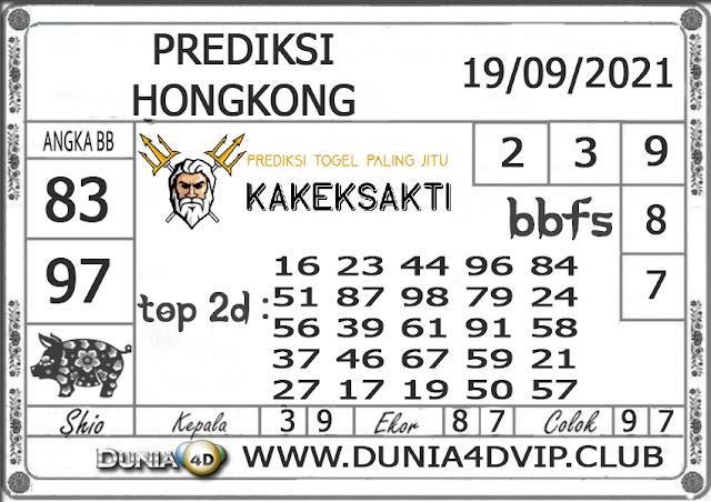 Prediksi Togel HONGKONG DUNIA4D 19 SEPTEMBER 2021