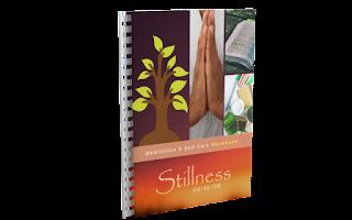 stillness and me-time meditation and self-care workbook
