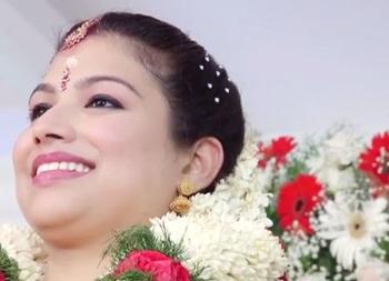 Divya Balakrishnan Royal wedding