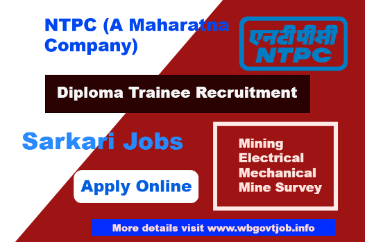 Diploma Trainee Recruitment in NTPC