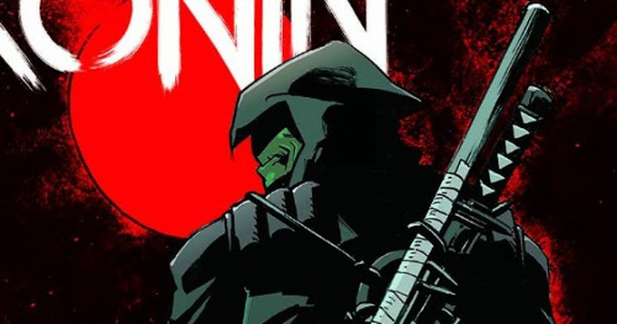 Anunciado nova HQ de Tartarugas Ninja - O Último Ronin