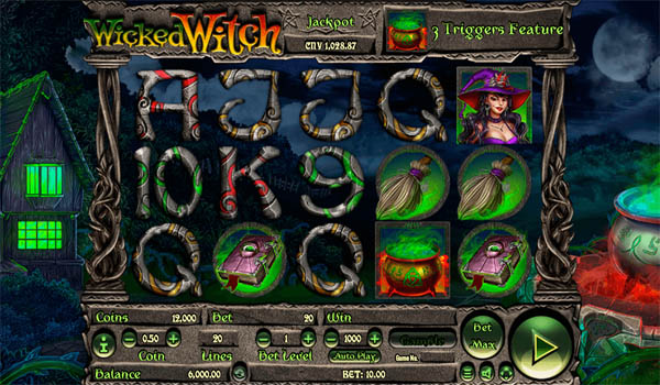 Main Gratis Slot Indonesia - Wicked Witch Habanero