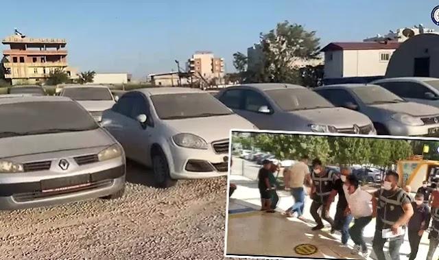 Şanlıurfa'da oto hırsızlarına operasyon! 4 tutuklama
