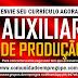 AUXILIAR DE PRODUÇÃO COM SALÁRIO R$ 1020,81 PARA EMPRESA DE TERCEIRIZAÇÃO