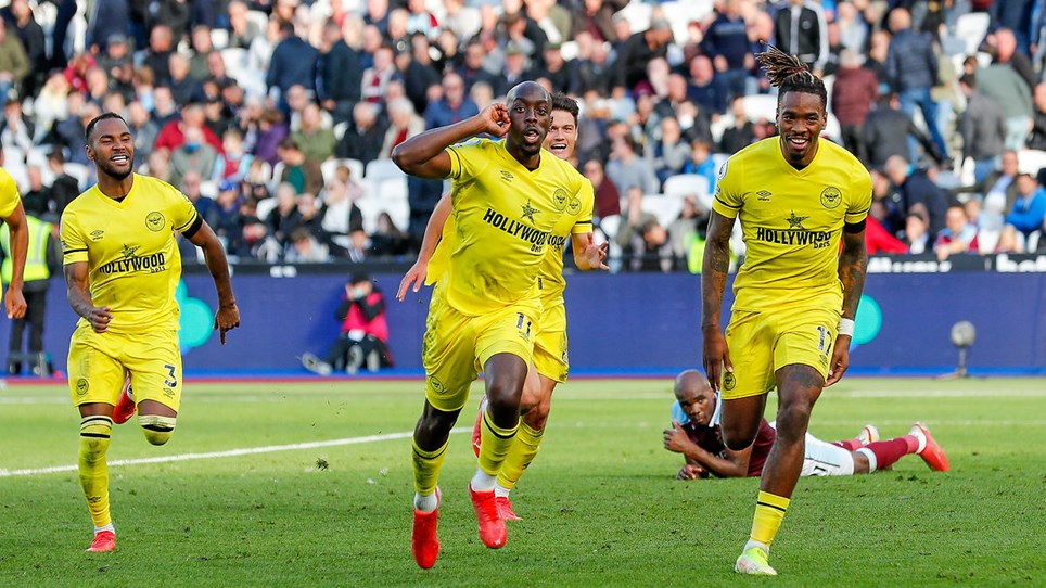 Brentford scoring a stoppage time winner at West Ham