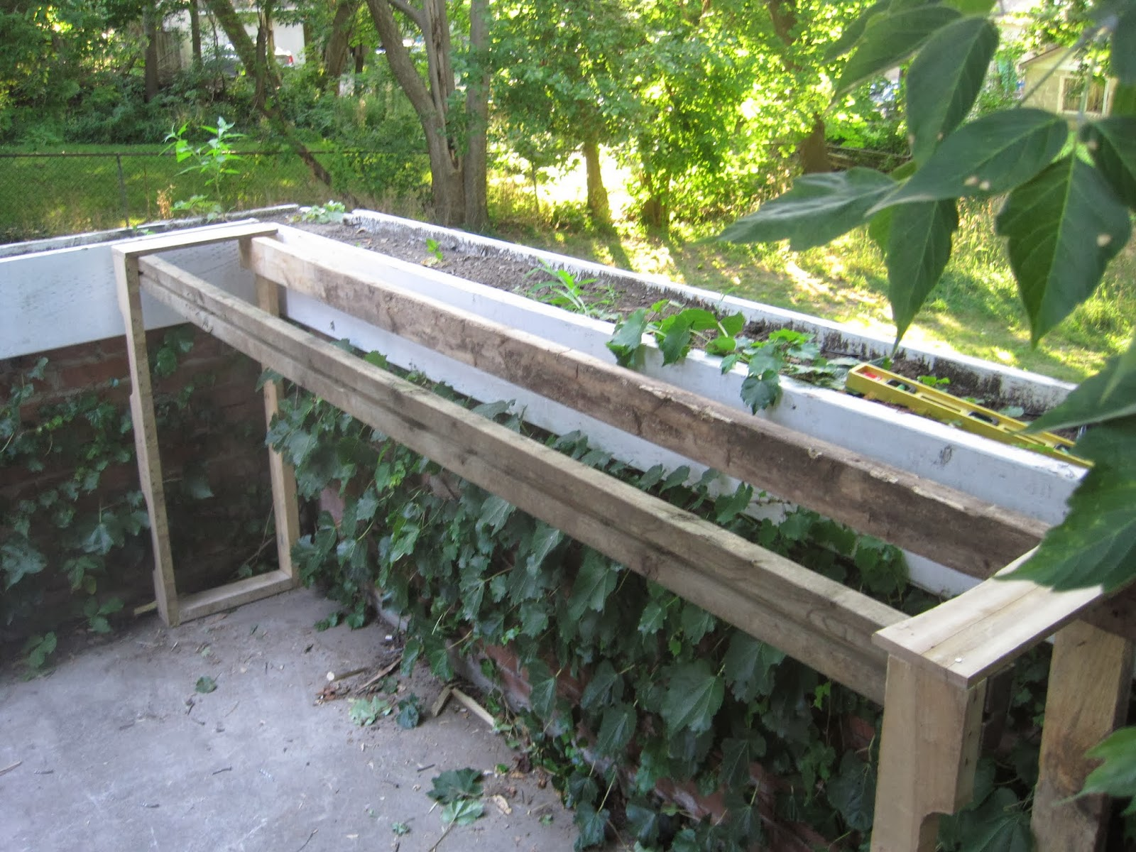 pallet bar how to build