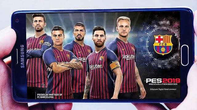 تحميل لعبة بيس PES 2019 على هواتف الاندرويد