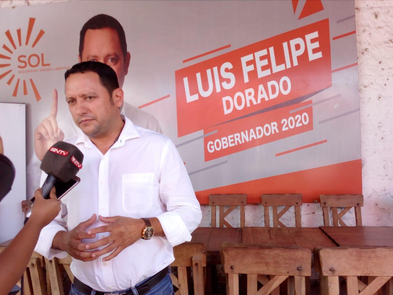 Luis Felipe Dorado es uno de los opositores a Áñez y los Demócratas /
