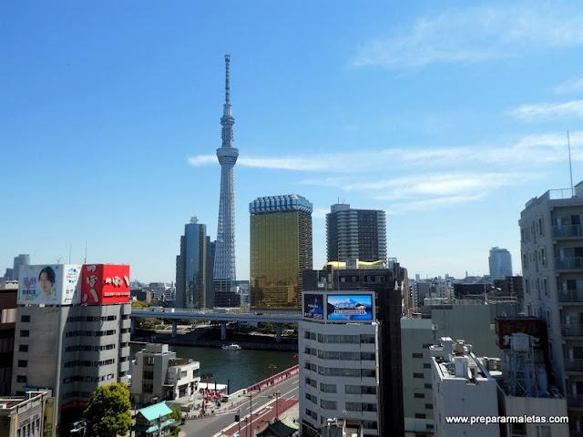 vistas a la Torre de Tokio