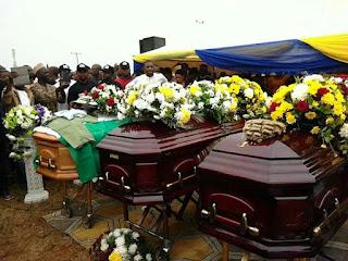 SENATOR JAMES OCHOLI, WIFE AND SON FINALLY BURIED IN KOGI STATE