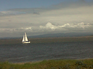 yacht at Fleetwood © Nickie O'Hara 2012