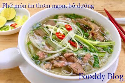 Phở - một món ăn dân dã, giản dị, nhưng rất đậm đà bản sắc văn hóa truyền thống của Việt Nam