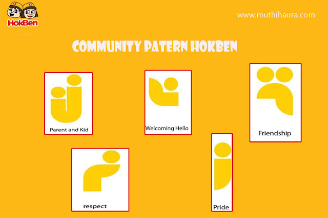 community pattern hokben