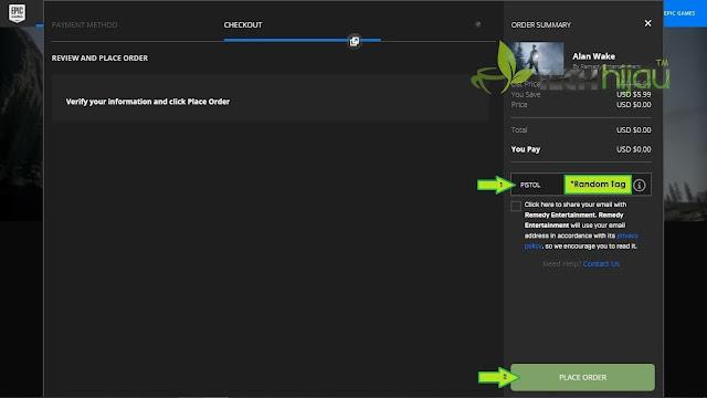 Alan Wake Halaman Payment - Tech Hijau™