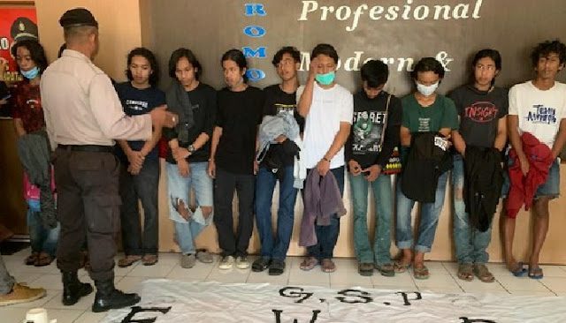 15 Mahasiswa Sinjai Diamankan Polisi, Ini Penyebabnya