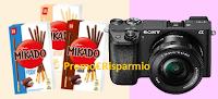 Logo Mikado: vinci gratis videocamere Sony Alpha 6300 e forniture Mikado