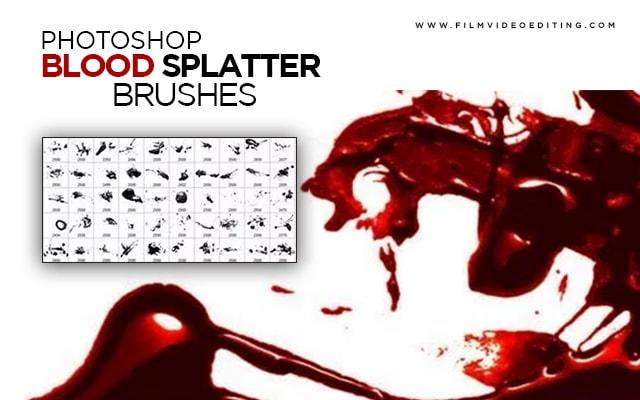 Download Blood Splatter Brushes Photoshop