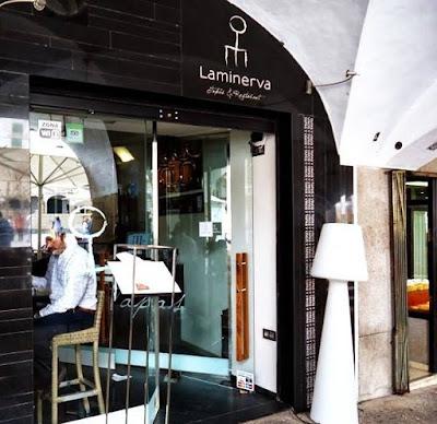 Fachada Restaurante La Minerva