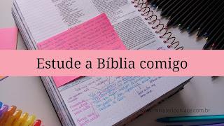 estude a bíblia comigo