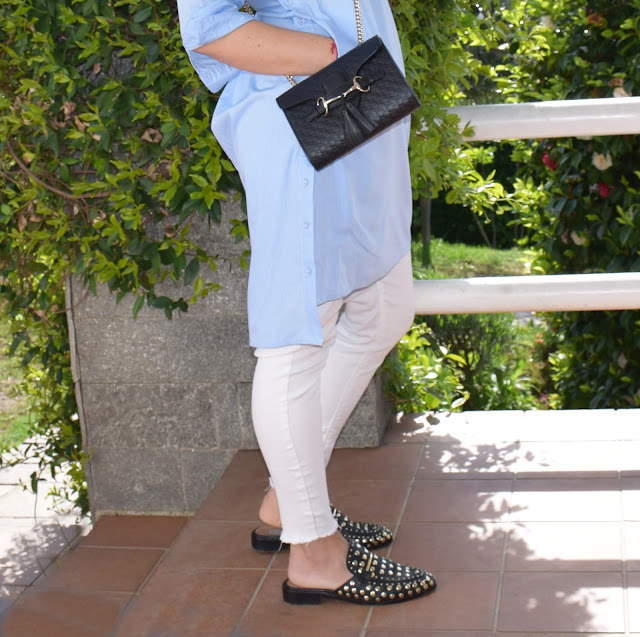 scarpe slippers outfit slippers come abbinare le slippers scarpe tendenza primavera 20019 how to wear slippers mariafelicia magno fashion blogger colorblock by felym fashion blogger Italy Steve Madden slippers shoes Steve Madden Gucci bag scarpe slippers Steve nmadden