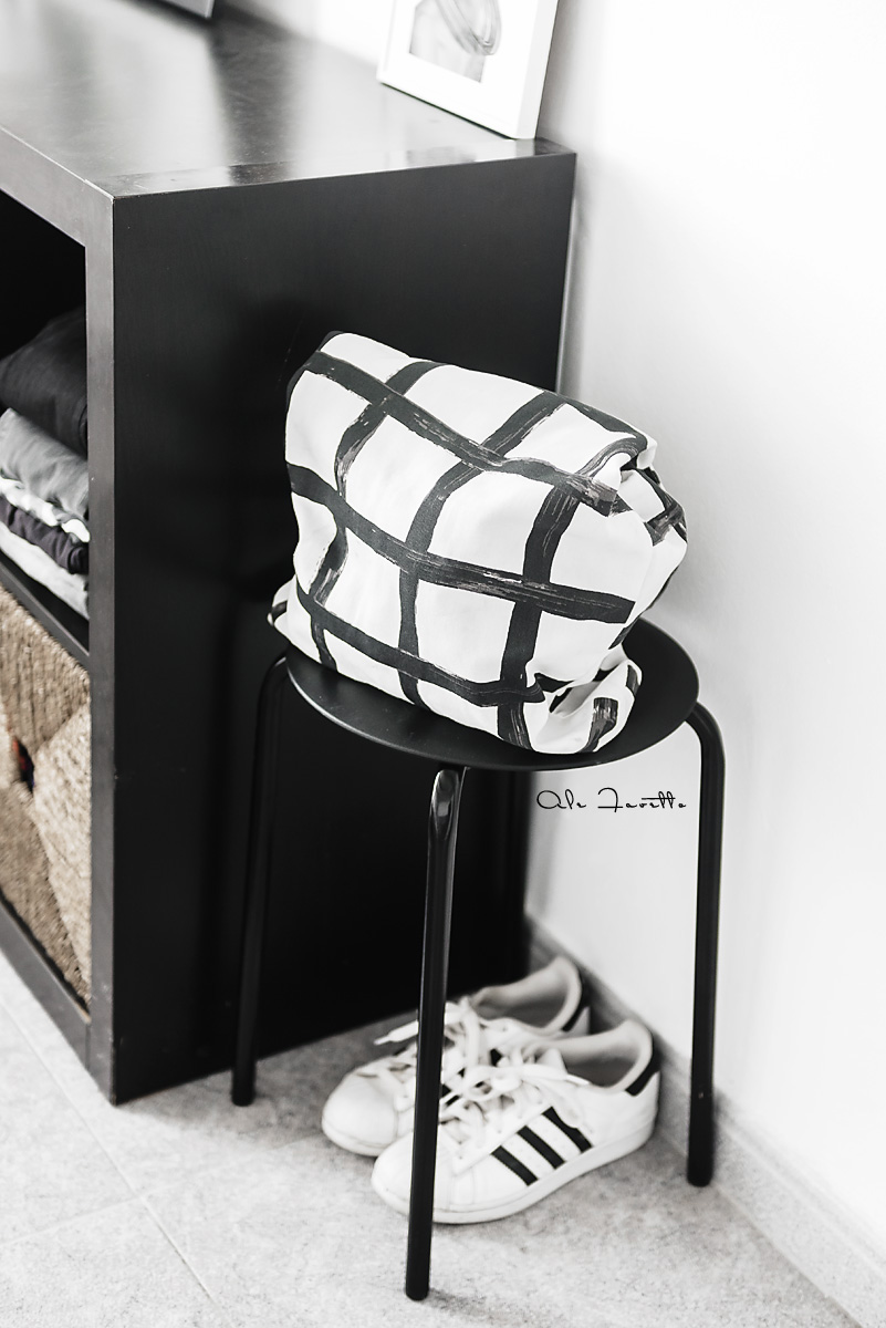 Como usar las bolsas de tela para decorar el dormitorio