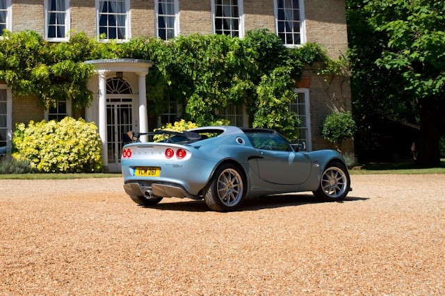 lotus Elise 250 Limited & Special Edition back view