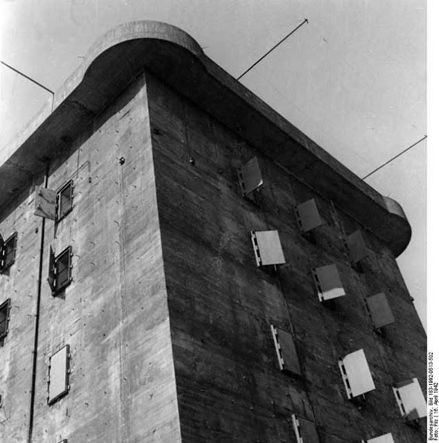 The Berlin Zoo-Flak Tower on 16 April 1942 worldwartwo.filminspector.com
