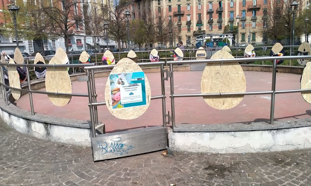 Milano: uova pasquali per i poveri che si svuotano di notte